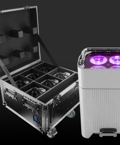 location projecteurs autonomes extérieurs chez 2n8, location Wellfit Par LED étanche
