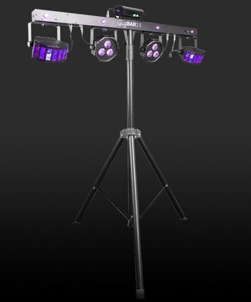 location éclairage DJ, louez ce pack pour un éclairage dynamique au rythme de la musique