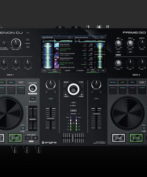location platines DJ Denon : contrôleur DJ Prime Go à la location sur Paris